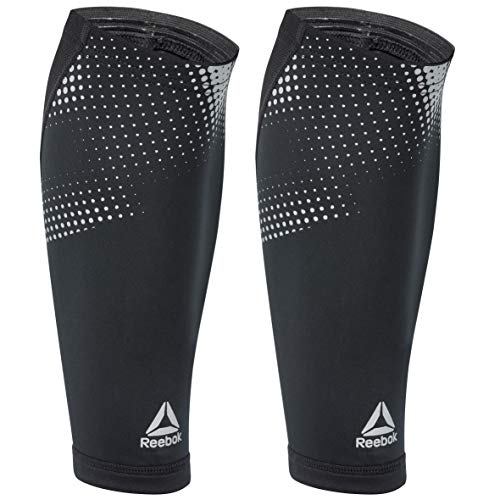 Reebok RRSL-13324 Compression Calf Sleeve - BlackMedium