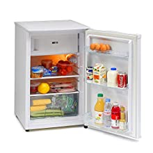 IceKing RK113AP2 48cm Under Counter Freestanding Fridge (White with Icebox) [Energy Class A+]