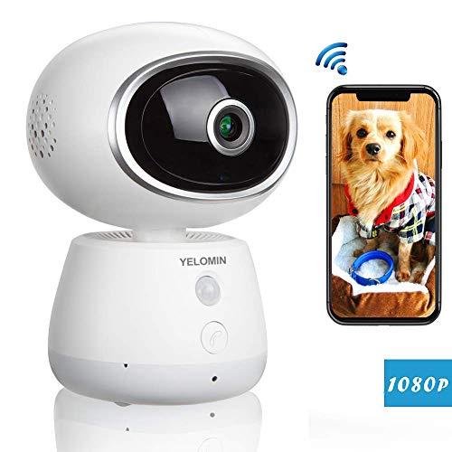 WLAN IP Kamera YELOMIN 1080P WiFi ÜberwachungsKamera mit Bewegun...