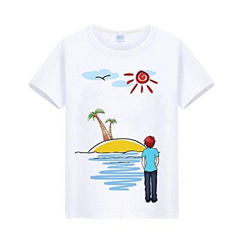 hai hai Kurze Hose Paare Strand Hosen Strand Setzt Ferien Männer Und Frauen Sommer Schnelle Trocknung Plus Fruchtbarkeit Xl Lose Dünne Hose, 4Xl, Fantasy Island (Männer T-Shirts) (Shirts Fruchtbarkeit)