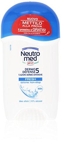 Neutromed - Deo Stick Dermo Defense, 5 Azioni Dermo-Difensive, Fresh Azione Non-Stop - 50 Ml
