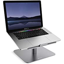 "Eono Essentials Supporto per PC Portatile, Supporto Laptop Notebook : Regolabile Supporto Stand Dock per 10""~17"" Notebooks - Grigio"
