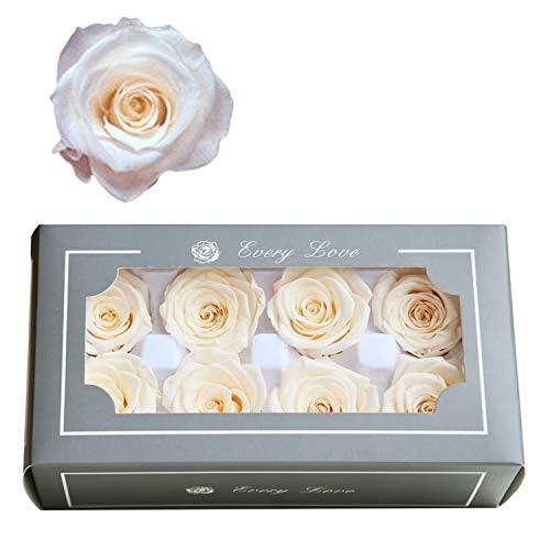 FASFF Frische Blume, Ewige Rose, Geschenk-Set, Freundinnen-Geschenke, Hochzeitsgeschenke, Mädchen-Geschenke, Geschenk für Frauen