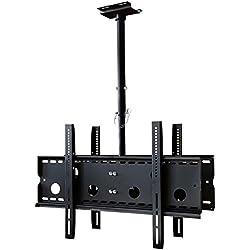 """TradeMount Support de Plafond pour télévision pour 2 moniteurs déployable pour LG 55"""" OLED55E7N"""