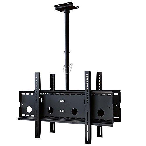 TV/Fernseher Deckenhalterung für zwei Monitore, ausziehbar für Vizio 32