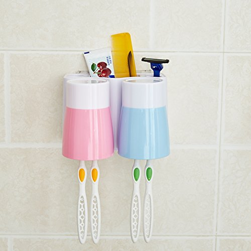 nfektion Sterilisation Wäscheständer an der Wand montierte Automatische Zahnpasta Halter automatisch aus dem Punch, 12. (Punch Dispenser)