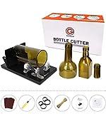 Bottle Cutter, Genround [2019 Aggiornamento 2.1] Taglia Bottiglie Vetro Professionale, Taglio Bottiglia Vetro Scoring macchina da collo a corpo, Taglia Vetro per Bottiglie di Vetro