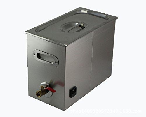 Jakan Haushalt Cleaning Equipment edelstahl Ultraschall-Reiniger, Edelstahl, grau, 6L Mechanical
