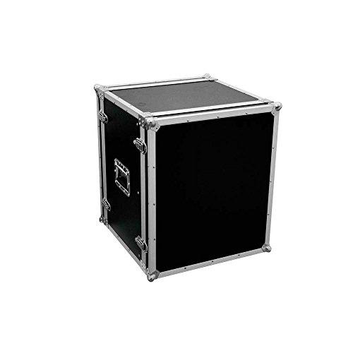 Rack de efectos CO DD, 12U, 38 cm de profundidad, negro