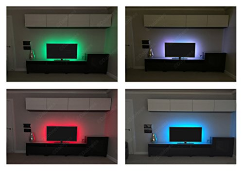 Dabhees-TV-USB-RGB-LED-STRIP-Back-light-Color-Changing-Lighting-Kit-PC-PS4-Linkable-LED