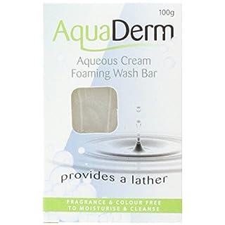 Aquaderm Aqueous Cream Foaming Wash Bar 100g