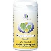 Avitale Nopal Kaktus Kapseln, 60 Stück, 1er Pack (1 x 31 g) preisvergleich bei billige-tabletten.eu