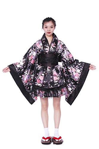 Double Villages Vestido Albornoz Kimono Estilo Japonés