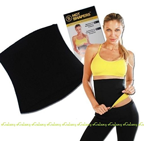 eGalaxy - Hot Shapers Slimming Belt - Size : XL - Color : Black