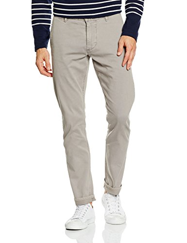 Dockers Alpha - Skinny Tapered, Pantaloni Uomo, Grigio (Foil), 34/30(UK)