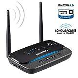 Émetteur Récepteur Bluetooth 5.0, 3-en-1 Adaptateur Audio Bluetooth aptX HD et aptX...