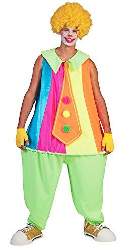 Kostüm Russell - Clown Russell Kostüm für Herren - Voluminöses Zirkus Kostüm für Karneval oder Mottoparty
