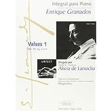 Integral para piano Enrique Granados: Valses 1: 15
