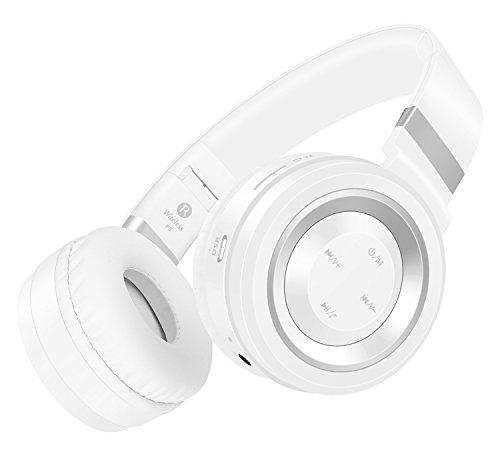 Honstek P6 inalámbrica Bluetooth 4.0, auriculares estéreo de alta fidelidad, plegable, Oído...