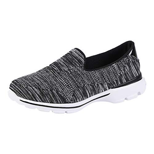 Sommer Joggingschuhe Damen,Unisex Sportschuhe Wanderschuhe Mode Paar Outdoor Mesh Casual Runing Atmungsaktive Schuhe Rutschfeste Turnschuhe