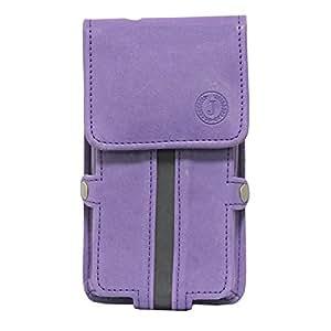 Jo Jo A6 Nillofer Series Leather Pouch Holster Case For ZTE Nubia Prague S Purple Black