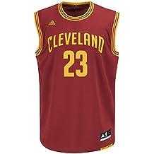 buy popular dbecc 96170 adidas NBA Maillot Réplique Cleveland Cavaliers Lebron James n° 23 pour  Homme