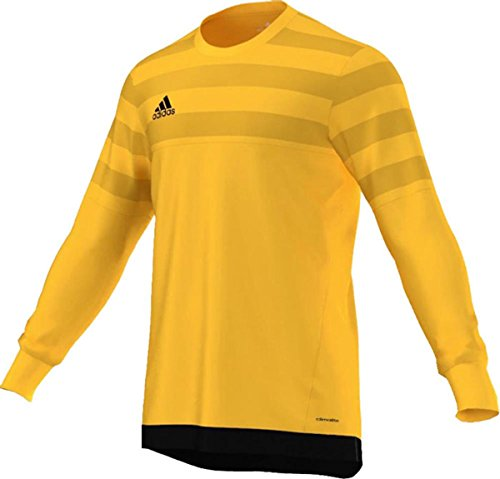 adidas Performance Mens Entry 15 Goalkeeper Jersey Bold Gold, Black