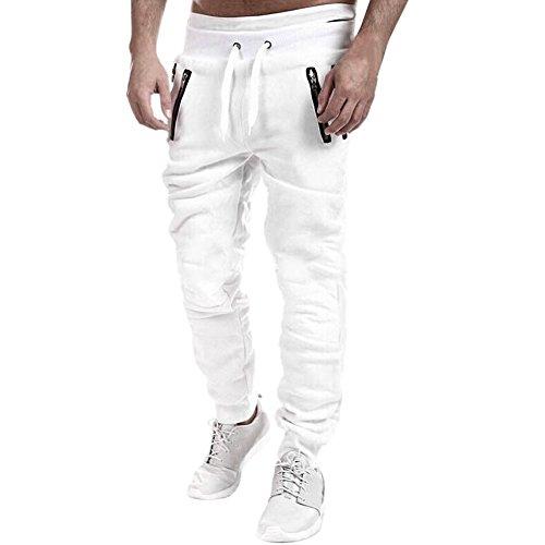 West See Männer Sportshose Casual Baggy Hose Hiphop Jogginghose Pants Lässige Traininghose Sweatpants