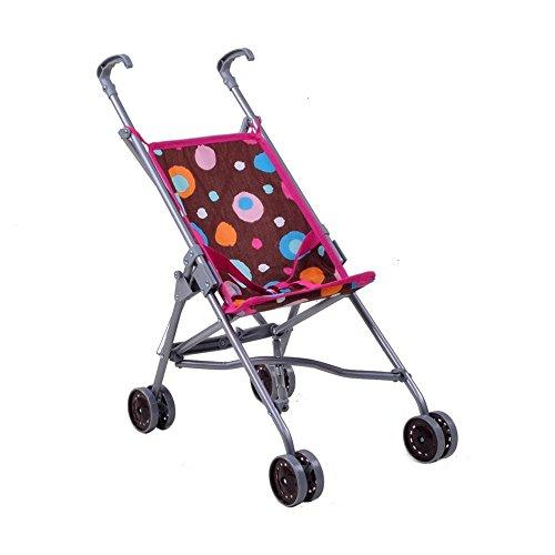 knorrtoys-12613-passeggino-per-bambole-splash-giocattoli-sim-marrone