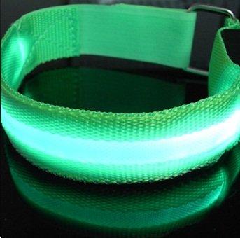 ShineVGift LED Sports Armband Flashing Safety Light for Running, Cycling