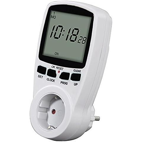 Hama 00108838 - Interruptor horario digital Premium