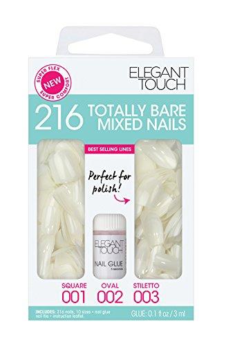 elegant-touch-totally-bare-regular-mixed-set-bumper-kit-stiletto-oval-square