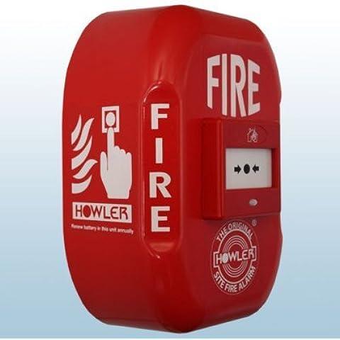 HOWLER FA16, FUNZIONAMENTO A BATTERIA, SITO FIRE ALARM CALL 118dB PUNTI CON ALLARME