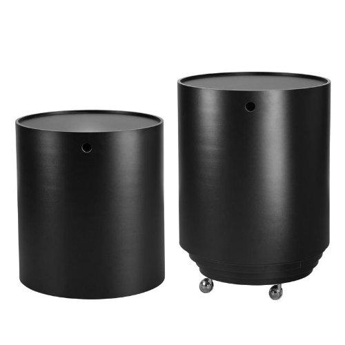 Verpan Party Set Container, schwarz H 52cm Ø 35-50.4 cm