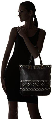 Kaporal Damen Gasma Einkaufstasche, 35x40x8 cm Noir (Black)