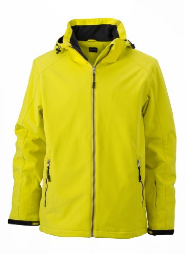Gefütterte Softshell Wintersport Jacke Green