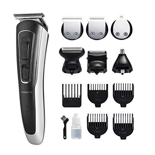Multi Professionelle Elektrische Haarschneider Barber Bart Rasierer für Männer 3-12mm Präzision Kamm Nase Ohren Haar Körper Scherer Wasserdicht Wiederaufladbare Drahtlose Trimmer mit USB