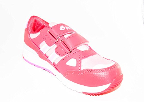 TMY 2575/4557 chaussures tendances pour fille rose taille :  26–36 Multicolore - Rose/blanc