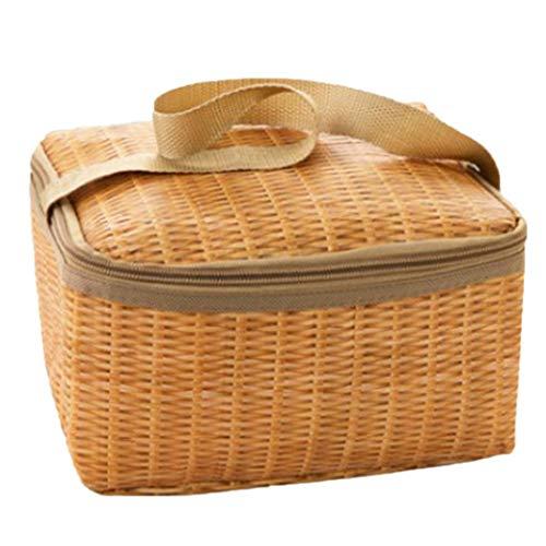 Jintes Thermal Cooler Lunch Bag Handtasche Beutel Picknick Aufbewahrungsbox Brotdosen & Wasserflaschen