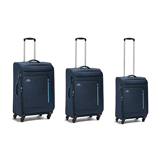 Ciak Roncato, FOCUS - Set 3 Trolley (L+M+S), Blu Navy