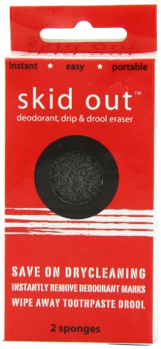 skid-out-deodorant-drip-drool-erasers-2-sponges-emergency-stain-remover