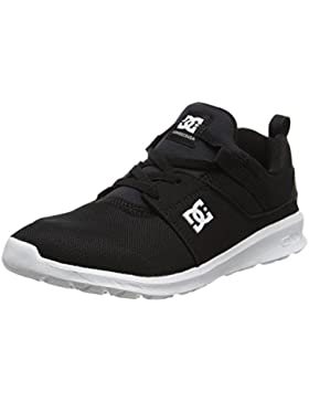 DC Shoes Heathrow B Alpargatas Niños, Negro, Null EU