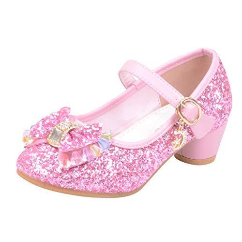 ❤️ Amlaiworld Infant Kinder Baby Mädchen Perle Kristall Bling Bowknot Einzelne Prinzessin Schuhe Sandalen