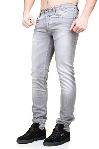 Redskins - Jeans Hammon2 Shister Heavy Grey Used Gris