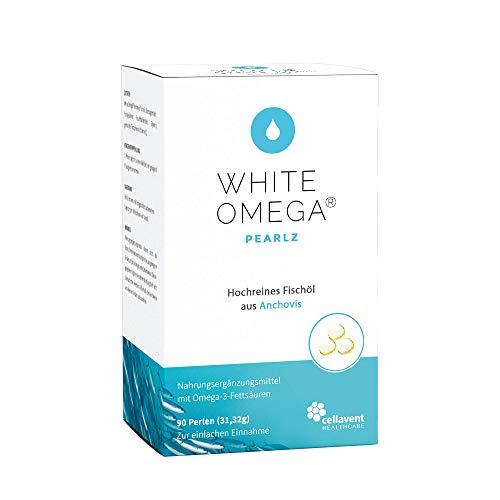 Omega 3 Kapseln (Monatspackung) 690mg Fischöl davon 507mg Omega-3-Fettsäuren pro Tagesdosis - DHA (276mg) und EPA (173mg) - zertifizierte Reinheit und Qualität - 90 Mini-Omega-Perlen - Kleine Fisch-Öl-kapseln