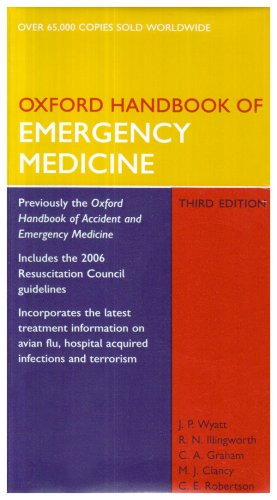 Oxford Handbook of Emergency Medicine 3e and Oxford Handbook of Pre-Hospital Care Pack: WITH Oxford Handbook of Pre-hospital Care Pack (Oxford Medical Handbooks)