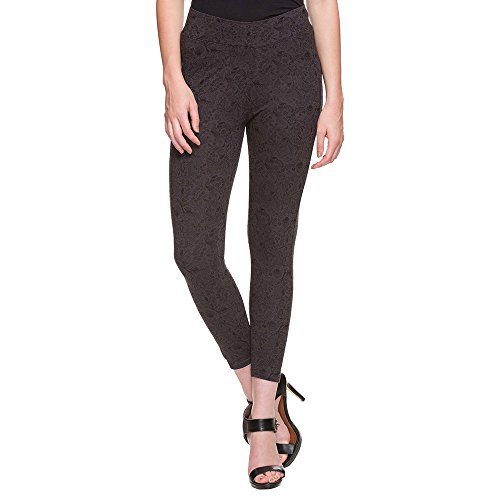Haute Curry by Shoppers Stop Womens Grey Printed Legging