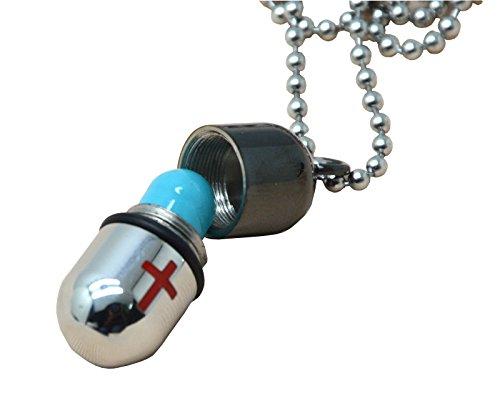okones-28-x-18-cm-latina-croce-capsula-pillola-custodia-porta-nero-rosso-collana-ciondolo-regolabile