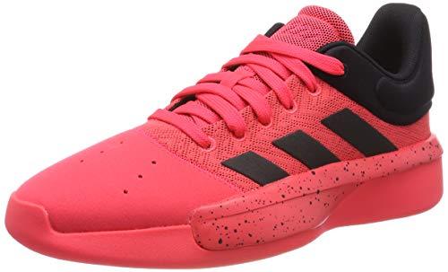 Adidas-basketball-schuh Rot (Adidas Herren Pro Adversary Low 2019 Basketballschuhe Rot (Core Black/Shock Red), 44 EU)