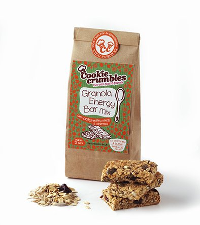 Cookie Crumbles - Granola Energy Bar Mix - 300g